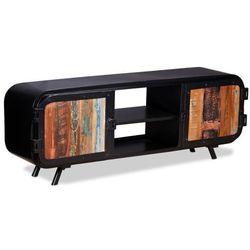 Vidaxl Szafka pod telewizor, drewno z odzysku, 120x30x45 cm