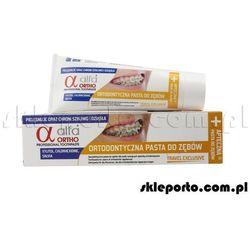 ortho travler exclusive pasta ortodontyczna 75 ml - asortyment ortodontyczny wyprodukowany przez Alfa
