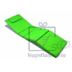 Poduszka Garth na leżak jasno zielona