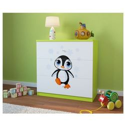 Komoda dziecięca babydreams pingwin kolory negocjuj cenę marki Kocot-meble