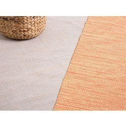 Dywan pomarańczowy bawełniany 160x230 cm derince marki Beliani