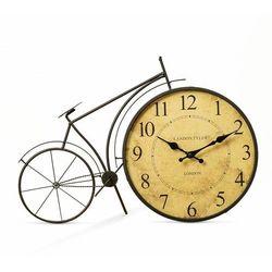 Stojący metalowy zegar rower londyn marki Dekoracjadomu.pl