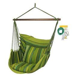 Fotel hamakowy HC10 z zestawem montażowym, zielony groszek zhc10-294-koala/fix/ch1
