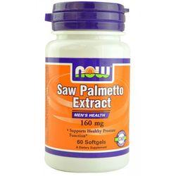 Saw Palmetto 160mg 60kaps z kategorii Pozostałe zdrowie
