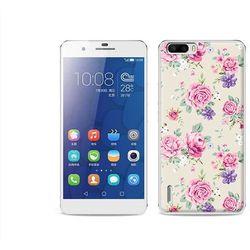 Fantastic case - huawei honor 6 plus - etui na telefon fantastic case - pastelowe różyczki, marki Etuo.pl