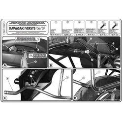 Kappa KL447 Stelaż Kufrów Bocznych Kawasaki Versys 650 (06 > 09) - sprawdź w StrefaMotocykli.com