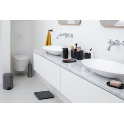 - zestaw łazienkowy renew collection - platynowy - platynowy marki Brabantia