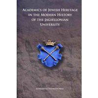 ACADEMICS OF JEWISH ORIGIN IN THE HISTOR (384 str.)