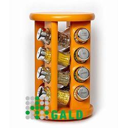 obrotowa półka 16el. pomarańczowy połysk 5901832921639 marki Gald