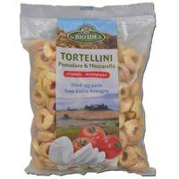 Tortellini Jajeczne z Pomidorami i Mozarellą BIO 100 g- La BIO (8717496907073)