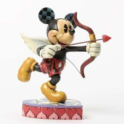 Myszka mickey mouse kupidyn cupido (love is in the air - micky amor) 4037518  marki Jim shore
