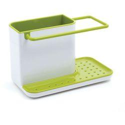 Pojemnik na akcesoria do zmywania JJ stojący biało-zielony (5028420850215)