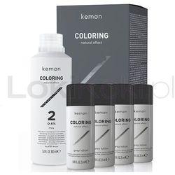 Coloring zestaw do koloryzacji dla mężczyzn efekt naturalny 100 ml + 4 x 25 ml Kemon - produkt dostępny w LokiKoki.pl