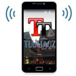 Blackview Profesjonalny tłumacz mowy (110-języczny!!) + słownik + smartfon + aplik. podróżnicze + internet...