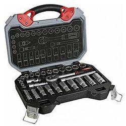 """Perel 3/8"""" zestaw kluczy nasadowych - 29 szt. (5410329424930)"""