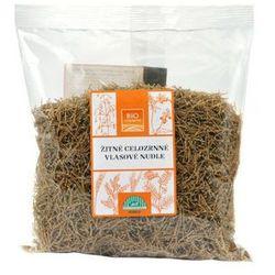 Makaron żytni pełnoziarnisty nitki cienki BIO 13 opakowań (13x300g)-BIOHARMONIE (kasza, makaron, ryż)