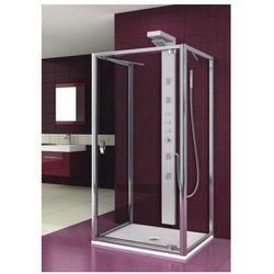 drzwi salgado 80 szkło przejrzyste, montaż z 2 ściankami 103-06087 od producenta Aquaform