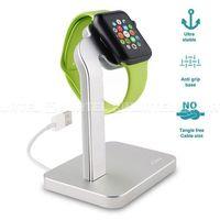 aluminum desk holder - stojak apple watch (srebrny) wyprodukowany przez Puro