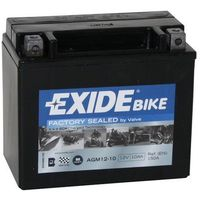 Akumulator motocyklowy Exide AGM12-10 YTX12-BS 10Ah 150A