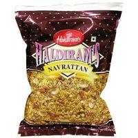 Navrattan Przekąska indyjska z chipsami ziemniaczanymi 200g - Haldiram's