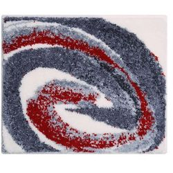 Grund dywanik łazienkowy colani 42, szary czerwony, 50x60 cm (8590507315049)