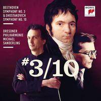 Beethoven: Symphony No. 3 - Shostakovich: Symphony No. 10 (CD) - Michael Sanderling