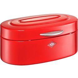 Wesco Chlebak / pojemnik kuchenny czerwony single elly (236101-02) (4004519095768)