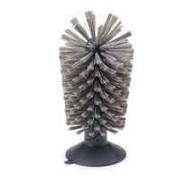 Joseph Joseph - Brush-up Szczoteczka z przyssawką szara wymiary: 8 x 16 cm