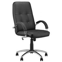 Fotel gabinetowy ZENIT steel04 - biurowy, krzesło obrotowe, biurowe