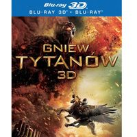 Galapagos films Gniew tytanów 3-d (2 bd)