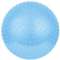 Gimnastyczny masażujący piłka Spokey SAGGIO FIT niebieski 65cm