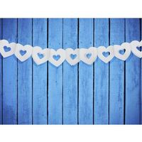 Ap Girlanda serca biała - 9 x 300 cm - 1 szt. (5901157459015)