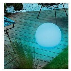 Kula ogrodowa solarna 34cm LED kolorowa, wodoodporna, 5770102
