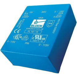 Transformator niskoprofilowy Block FL 6/15 (transformator elektryczny)