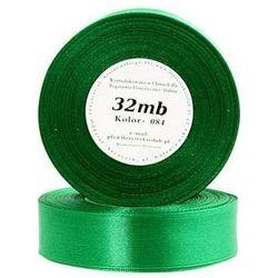 Wstążka satynowa 25mm/32mb zielony trawa - produkt z kategorii- Pozostałe artykuły szkolne i plastyczne