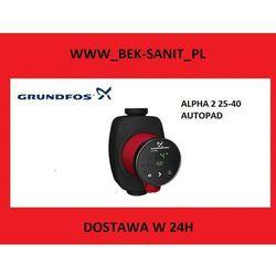 pompa co alpha 2 autoadapt 25-40 od producenta Grundfos
