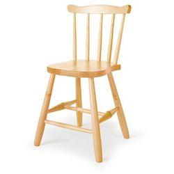 Krzesło dziecięce ANNA, 390 mm, brzoza