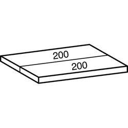 Przemysłowo-magazynowy regał wtykowy, wys. 1920 mm, 5 półek,szer. półki 1000 mm