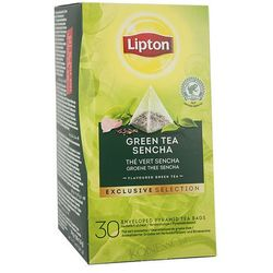 Herbata  green tea 30 szt. koperty- piramidki, marki Lipton