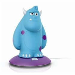DISNEY - Lampka nocna ładowana Softpal LED Monsters Sulley Wys.15,4cm