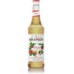 Syrop smakowy Monin Peach, brzoskwinia 0,7l z kategorii Napoje, wody, soki