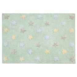 Dywan do prania w pralce tricolor star soft/mint od producenta Lorena canals