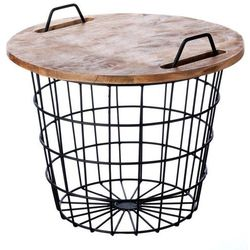 stolik loft look 60x50cm, 60x50cm marki Dekoria