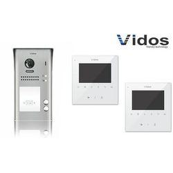 Zestaw cyfrowy wideodomofon dwurodzinny VIDOS S1102A_M1022W