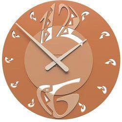 Zegar ścienny Ethnic CalleaDesign terakota