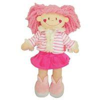 Lalka Szmaciana 35 cm różowa - Beppe (5902362047424)