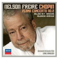 Chopin Piano Concerto No. 2 (Freire, Gurzenich-Orchester Koln) (CD) - Nelson Freire