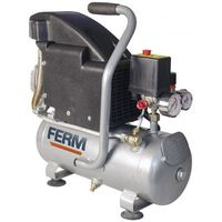 Ferm Kompresor olejowy 1.1hp - 750w - 8l