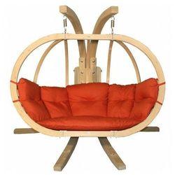 Fotel wiszący na taras terracotta - parys 3x marki Producent: elior