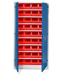 Aj produkty Szafa warsztatowa z pojemnikami, 36 czerwonych pojemników, 1900x1000x400 mm